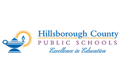 Hillsborough County School Department Logo